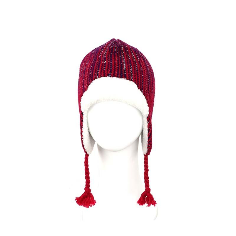金蔥護耳毛帽