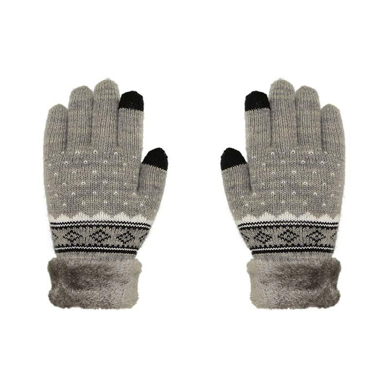 針織雙層手套