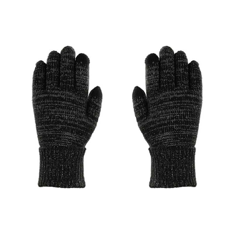 針織反光手套