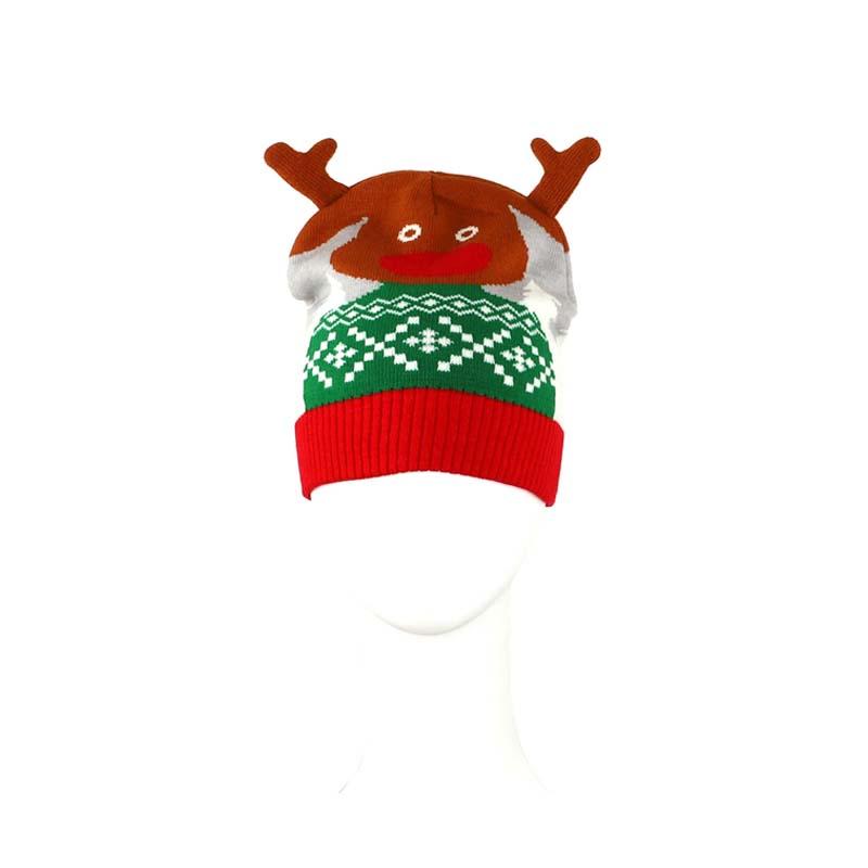 耶誕節糜鹿造型帽