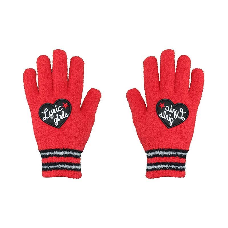珊瑚絨手套